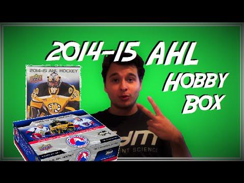 2014-15 AHL Hobby Box Unboxing (5 AUTOS PER BOX!)