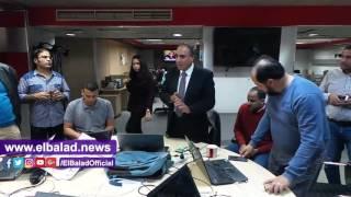 عبد المحسن سلامة: الصحافة تمر بأزمة حقيقية وأمد يدى للجميع..فيديو وصور