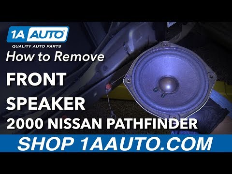 How To Remove Front Door Speaker 96-04 Nissan Pathfinder
