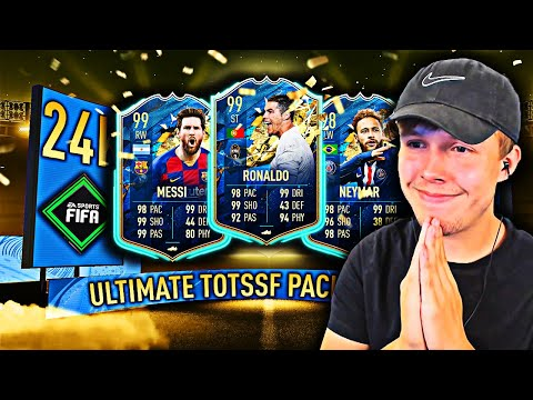This Is What 24,000 FIFA Points Got Me For Ultimate TOTSSF...