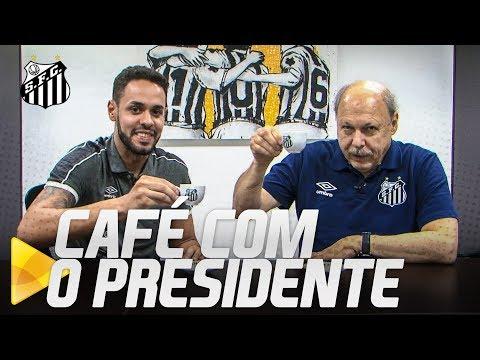 CAFÉ COM O PRESIDENTE #3 | O ELENCO DO FUTEBOL PROFISSIONAL