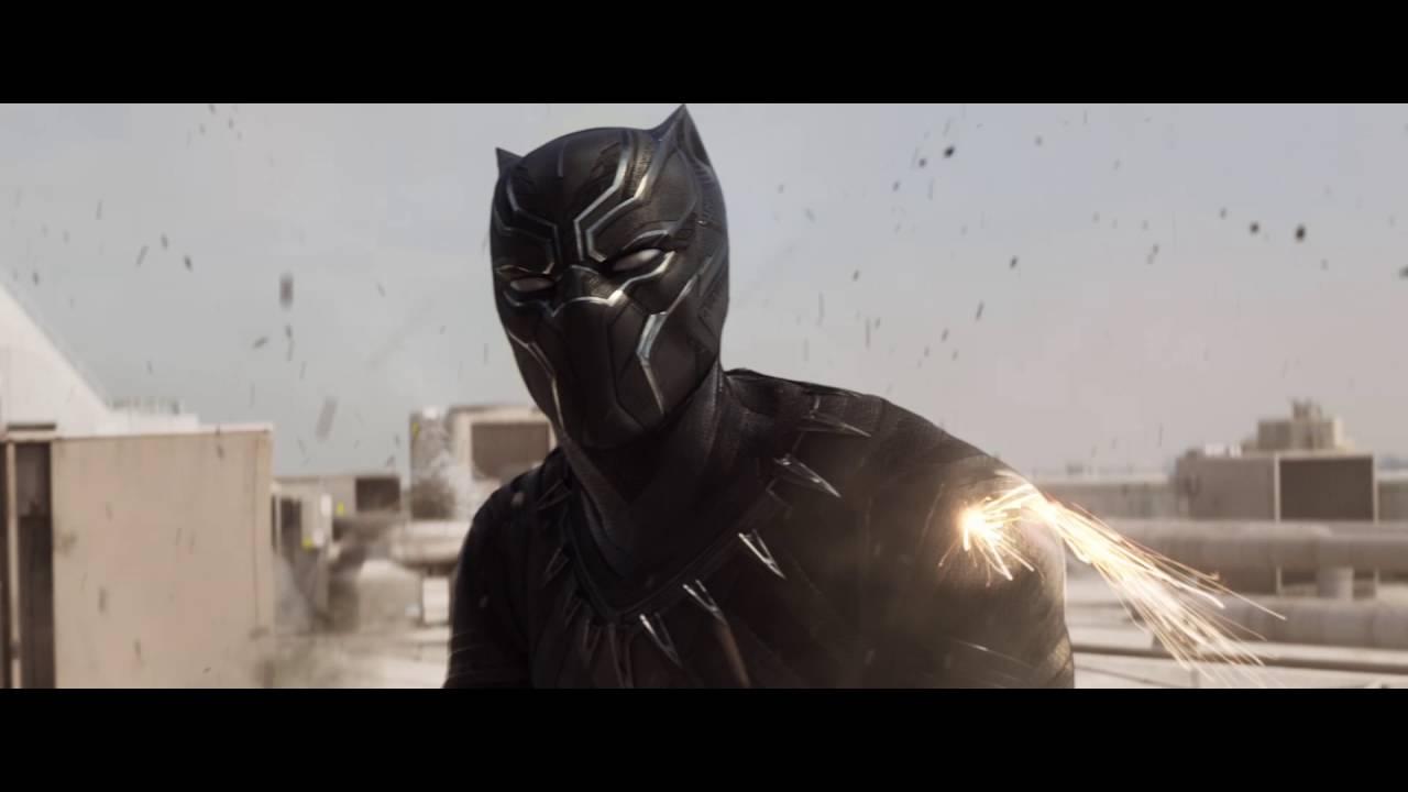 Captain America : Civil War - Extrait : Rencontre avec Black Panther