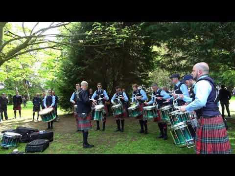 Bangor 2018 - Field Marshal Montgomery Drum Corps - Medley practice