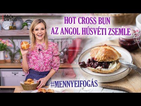 Hot Cross Bun Az Angol Húsvéti Zsemle