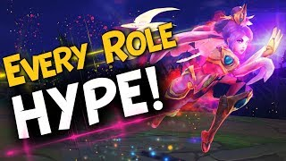 HYPE MONTAGE FOR EVERY ROLES!