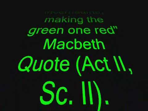 The three great crimes of macbeth