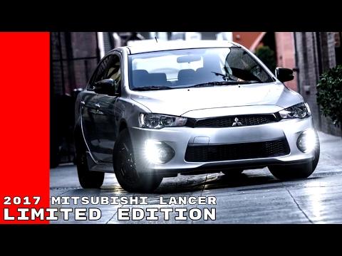 2017 Mitsubishi Lancer Limited Edition
