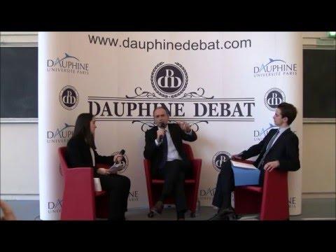 Jean François Copé à Dauphine (Dauphine Discussion Débat)