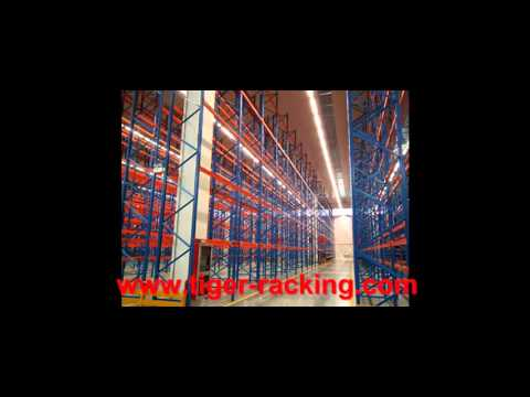 High Density Radio Shuttle Rack,Save Space VNA Pallet Racking