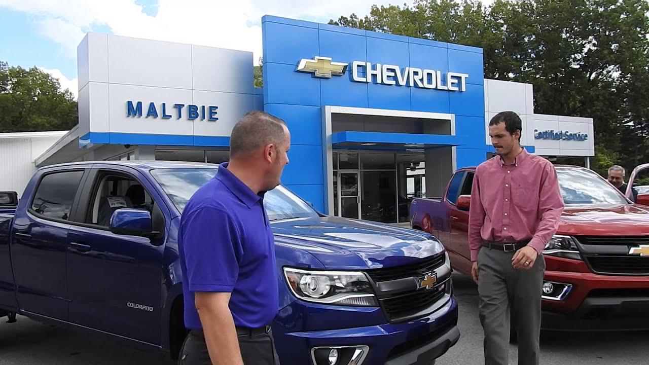 2016 Chevrolet Colorado MALTBIE CHEVROLET - YouTube
