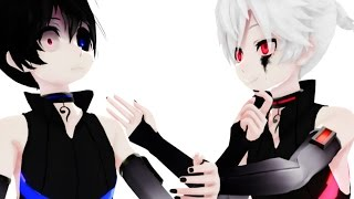 MMD◆Dating Advice by Red & Blue