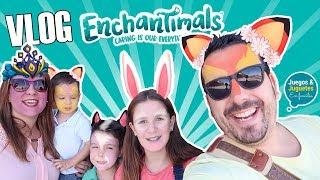 Vlog fiesta ENCHANTIMALS // Juegos y Juguetes en Familia
