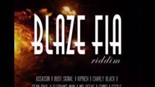 "DaCapo presents ""BLAZE FIA"" RIDDIM (Dutty Rock Music)"