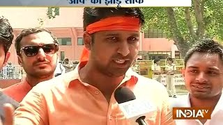 DUSU Election: ABVP Defeats NSUI, CYSS to Win all 4 Seats - India TV