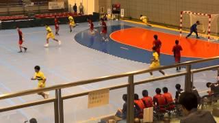 第68回 国体ハンドボール少年男子 北海道 vs 茨城県 (6)