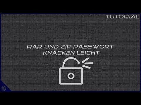 RAR Und Zip Passwort Knacken Leicht || Tutorial
