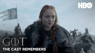 Sophie Turner describes growing up on Game of Thrones and how hard it was to say goodbye to the cast and crew. Game of Thrones returns for its final season ...