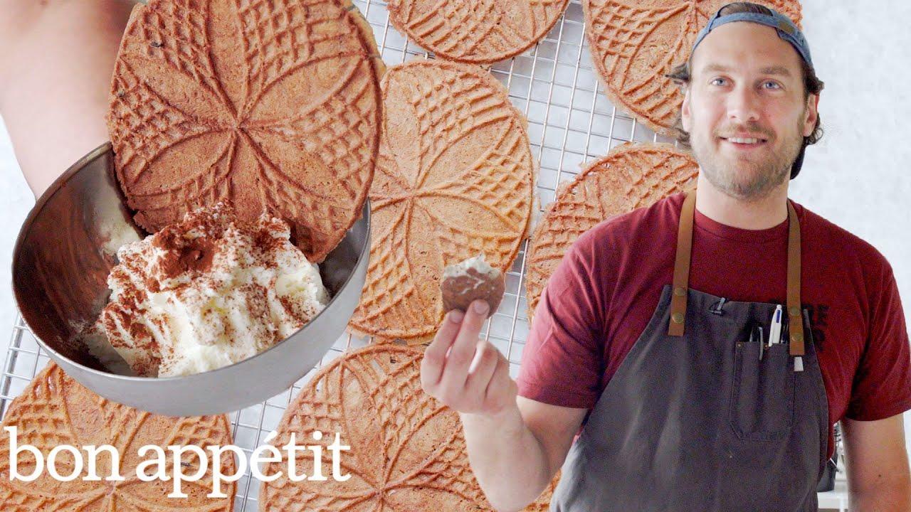 Brad Makes Sourdough Pizzelle Cookies | It's Alive | Bon Appétit