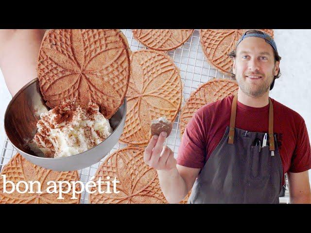 Brad Makes Sourdough Pizzelle Cookies | Its Alive | Bon Appétit