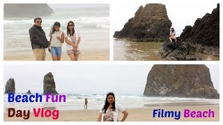 Cannon Beach Fun Day Vlog  || Beach Day = Best DAY || Hindi Vlog