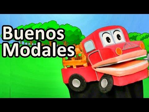 Los Buenos Modales - Barney El Camion - Canciones Infantiles - Video para niños #
