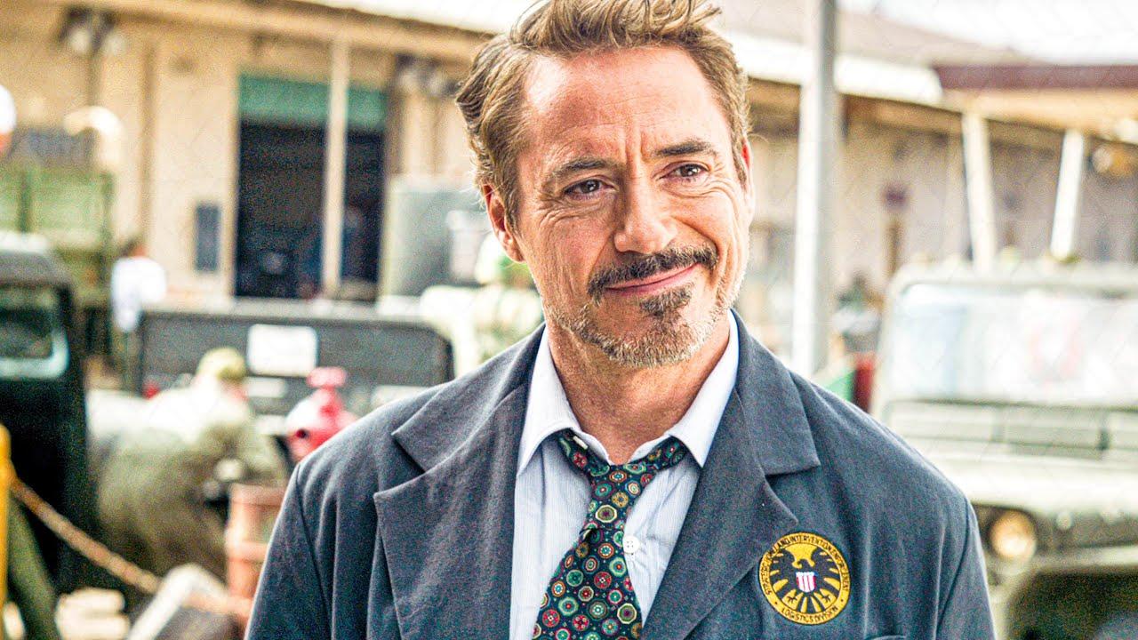 Tony And Howard Stark S Final Goodbye Scene Avengers 4 Endgame 2019 Movie Clip Youtube
