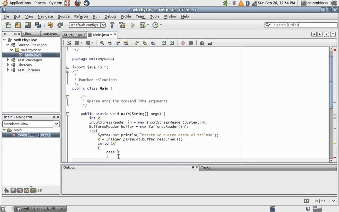 Tutorial De Java Switch Y Case