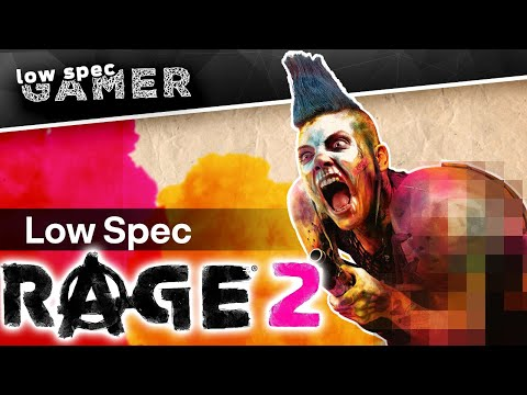 Boost FPS On Rage 2 On A Low End PC... By Disabling Violence!