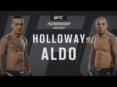 EA SPORTS UFC 2 - UFC 212: Max Holloway v José Aldo Gameplay [1080p HD]