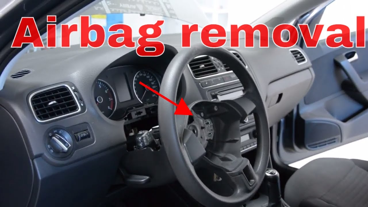 how to remove the airbag from a vw polo 6r 2011 youtube. Black Bedroom Furniture Sets. Home Design Ideas