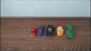 Обзор коллекции детских машин (игрушечный автотранспорт; игрушки для детей) | Часть 1 | Laletunes