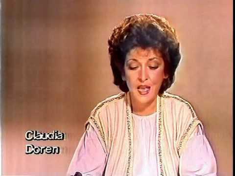 Claudia Doren Ansage ARD So. 16.8.1981