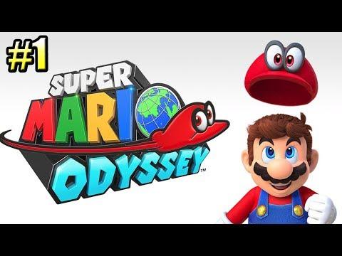 Super Mario Odyssey {Switch} прохождение часть 1 — Одиссея Супер Марио