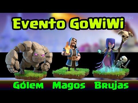 ¿Cómo Hacer el Ataque GoWiWi? (Gólem, Magos y Brujas) Para Aprovechar el Evento