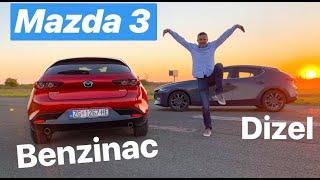 Mazda 3 - usporedni test - testirao Juraj Šebalj