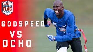 Flag Football Highlights: Ochocinco looks to advance his team to $1 Million final!   NFL