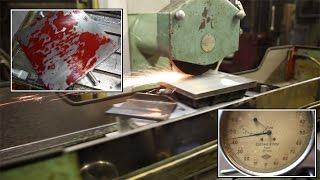 обзор мастерской, шлифовка плиты или почему нужно шабрить