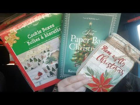 *NEW* DOLLAR TREE CAR HAUL! New Books, Stickers, & Christmas Decor | Haul 12-12-19
