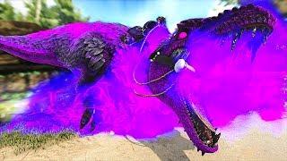 Taming The Strongest Dinosaur! Tнe Feathered Evolved Darkstar!   ARK: Modded Eternal #58