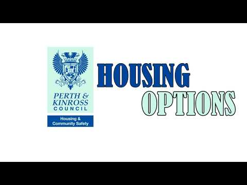 Perth & Kinross Council Housing Options