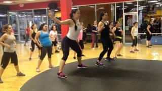 Zumba/ Zumba toning ab workout (Al Ritmo del batuke & acorden - base pitbull )