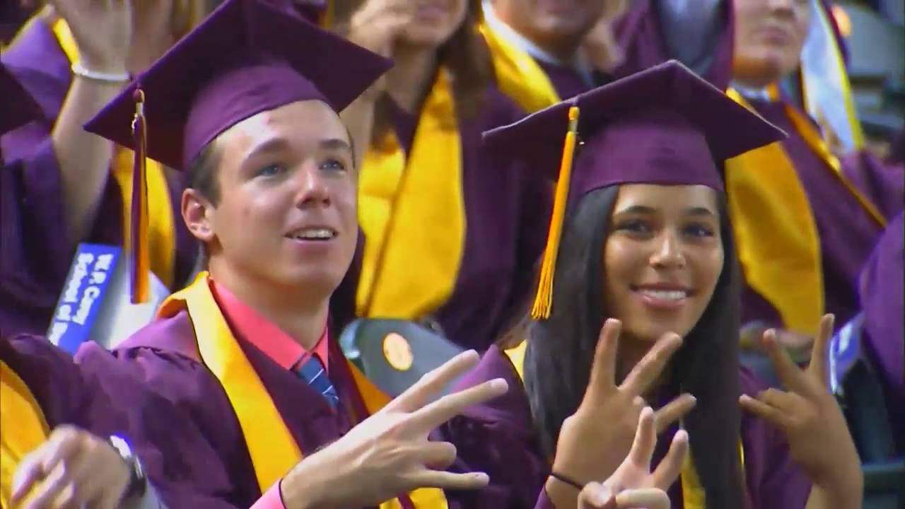 ASU Undergraduate Commencement Ceremony - Spring 2016 - YouTube