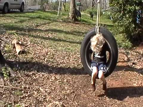 Tire Swings Are Great!