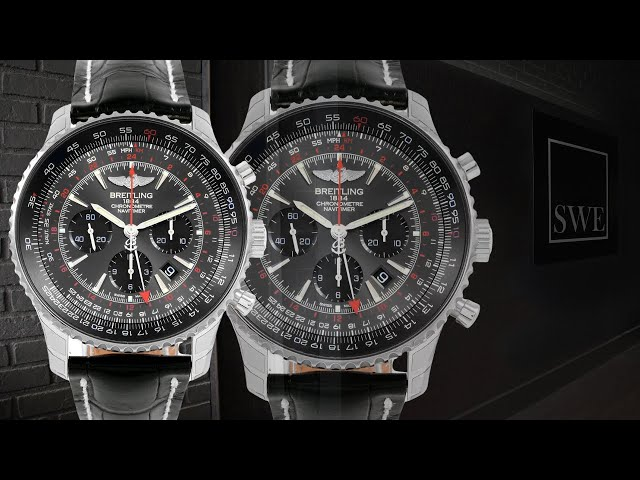 Breitling Navitimer GMT Stratos Grey Limited Edition Watch AB04413A-F573-441X | SwissWatchExpo