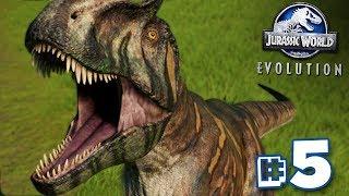 THE BURPASAURUS!!! - Jurassic World Evolution - HARD CHALLENGE MODE   Ep5 HD