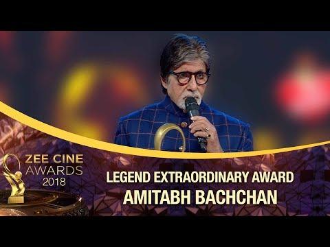 LEGEND Extraordinaire | Amitabh Bachchan | Zee Cine Awards 2018