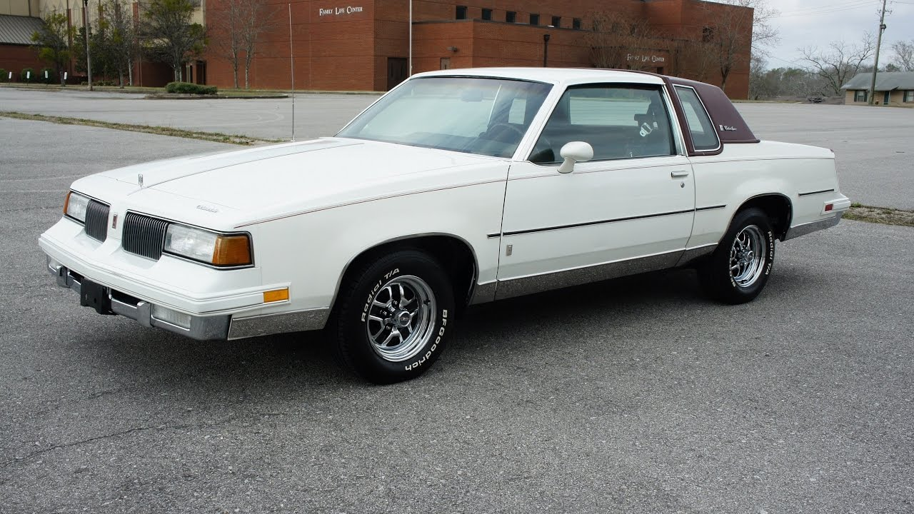 1987 oldsmobile cutlass supreme for sale olds gbody youtube. Black Bedroom Furniture Sets. Home Design Ideas