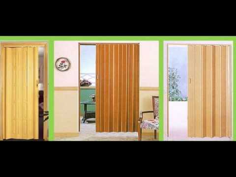 jual pvc folding door Deden Decor 082311064646 - YouTube