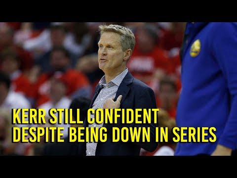 NBA Playoffs: Kerr confident with Warriors going into Game 6