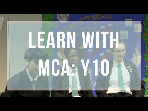 Learning With MCA: Year 10 Edition